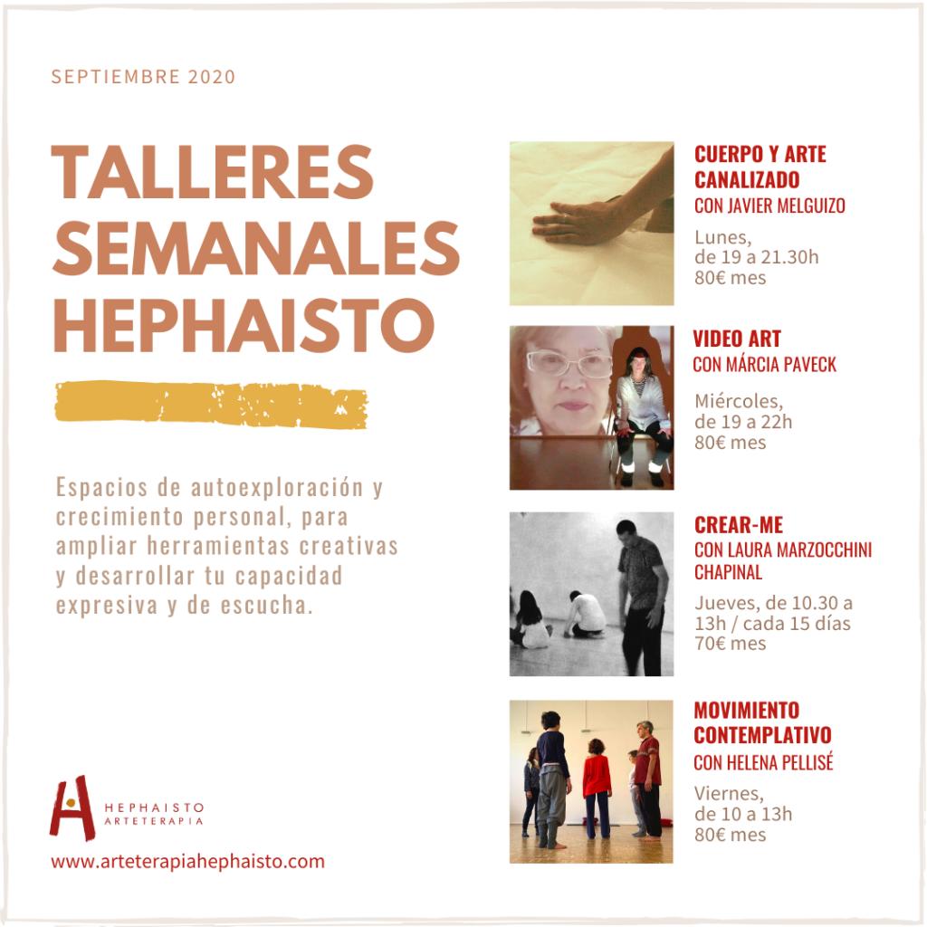 talleres artísticos crecimiento personal barcelona